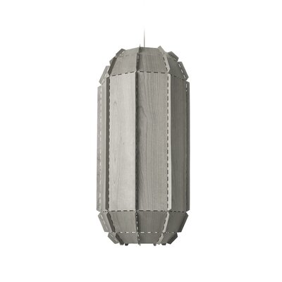 Fontenot Stitches 1-Light Geometric Pendant Shade Color: Gray, Bulb Base: E26/Medium (Standard)