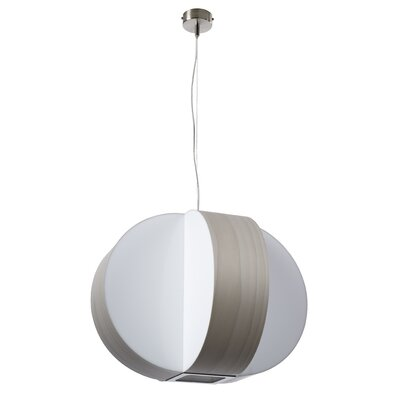 Carambola 4-Light Globe Pendant Shade Color: Grey