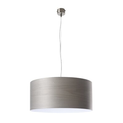 Gea 1-Light Drum Pendant Bulb Type: E26
