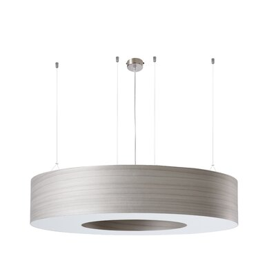 Saturnia 3-Light Drum Pendant