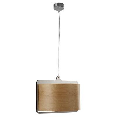 Icon S Suspension Finish Option: Natural Cherry, Lamping Option: E26 Base