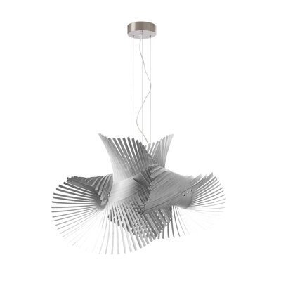 Minimikado 1-Light Geometric Pendant Bulb Type: GU24