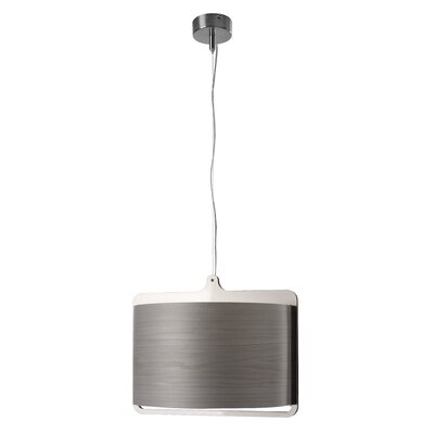 Icon 1-Light Drum Pendant Bulb Type: GU24