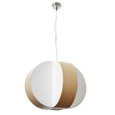 Carambola 4-Light Globe Pendant Shade Color: Natural Beech