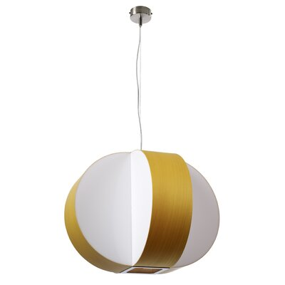 Carambola 4-Light Globe Pendant Shade Color: Yellow