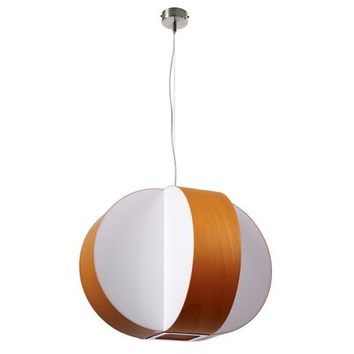 Carambola 4-Light Globe Pendant Shade Color: Orange