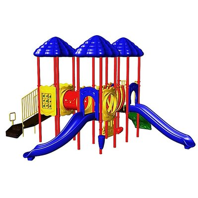 Ultra Play UPlay Today UP Front with One Crawl Tunnel & One Bone Bridge & Vine Climber - Color: Playful at Sears.com