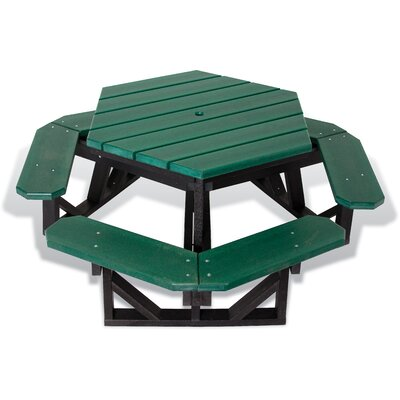 UltraSite Picnic Table Finish: Green