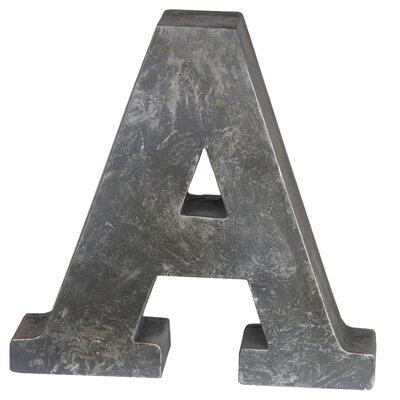 A-Design Metal Letter Block