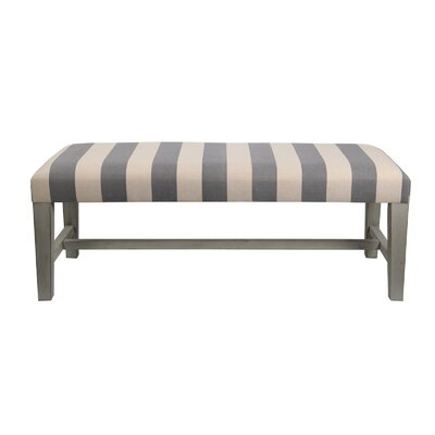 Striped Cocktail Ottoman