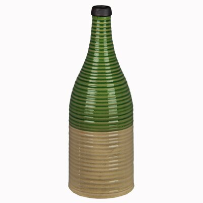Ceramic Ribbed Vase 84133