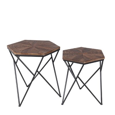 Lawrence 2 Piece End Table Set