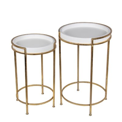 Jerlene 2 Piece End Table Set