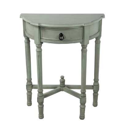 Jenifry Half Round End Table
