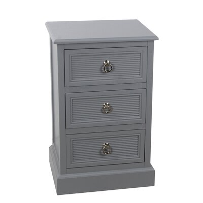 Braidwood 3-Drawer End Table