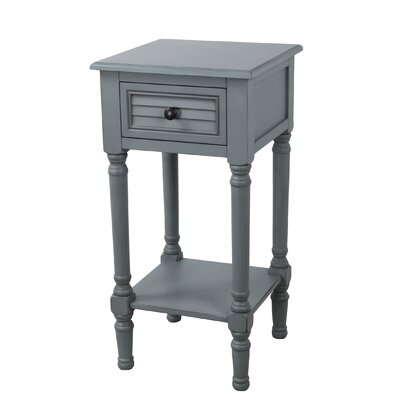 Brady Shuttered End Table