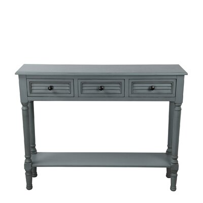 Brandee Shuttered Console Table
