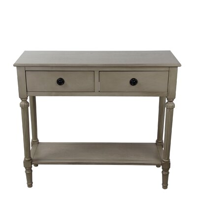 Odile Console Table Finish: Gray