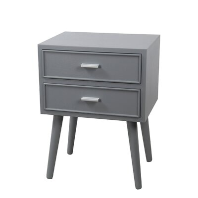 Ivy 2 Drawer Nightstand
