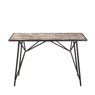 Quintin Wood Iron Console Table