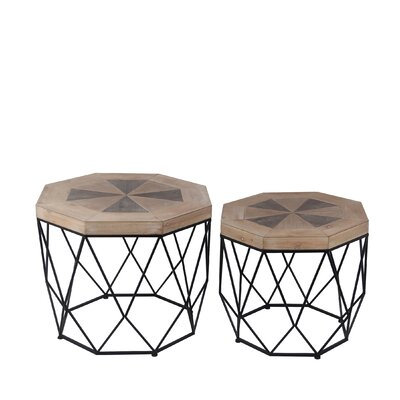 Ted 2 Piece End Table Set