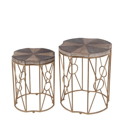 Jennings 2 Piece End Table Set