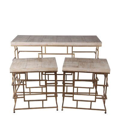 Barrett 3 Piece Console Table Set
