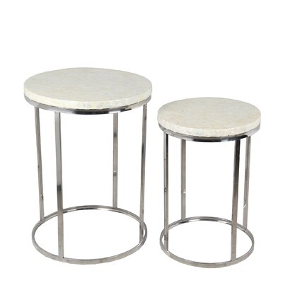 Mavis 2 Piece End Table Set
