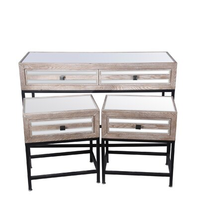 Floyd 3 Piece Console Table Set