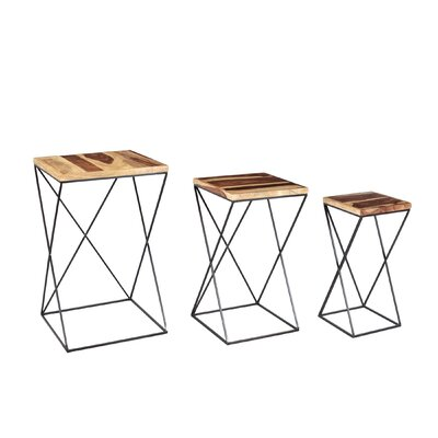 Potter 3 Piece Nesting Table Set