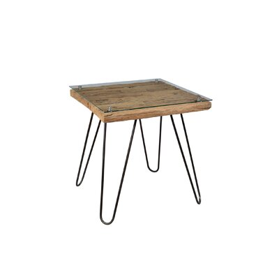 Lutz Square End Table
