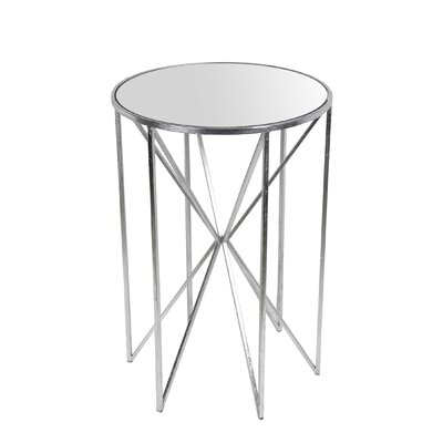 Svetlana End Table Finish: Silver