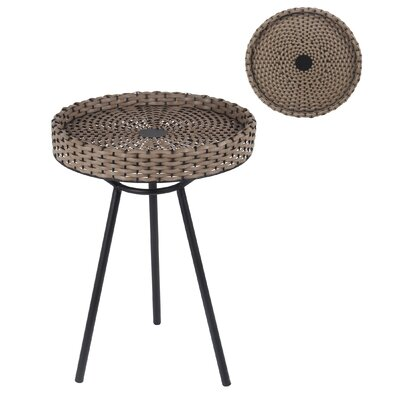 Electra End Table Color: Black