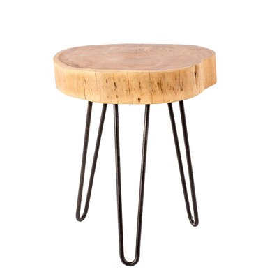 Waller Natural Trunk End Table