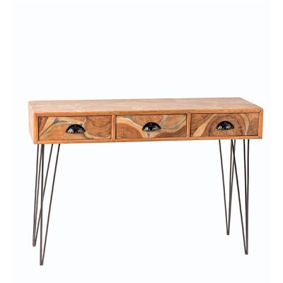 Strickland 3 Drawer Console Table