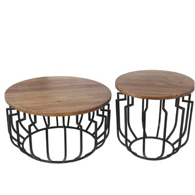 Donavon 2 Piece End Table Set