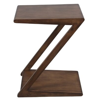 Belz Z End Table Color: Brown