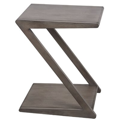 Belz Z End Table Color: Gray