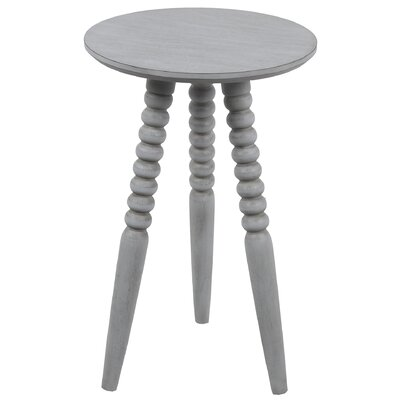 Bembry Round End Table Color: Gray