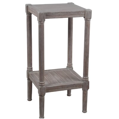 Aleshire Square End Table Color: Brown
