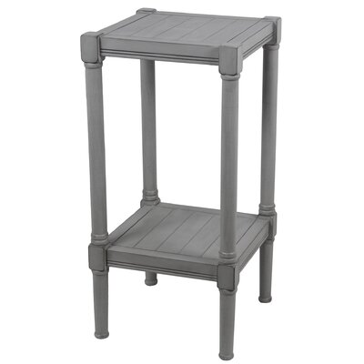 Aleshire Square End Table Color: Gray