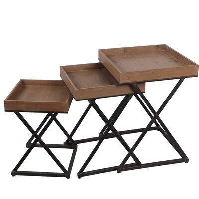 Wallis X Design 3 Piece Nesting Tables