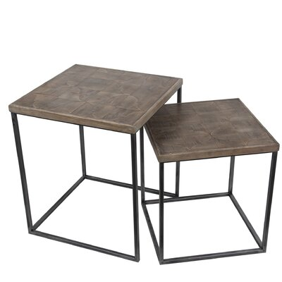 Ehrika 2 Piece Nesting Tables