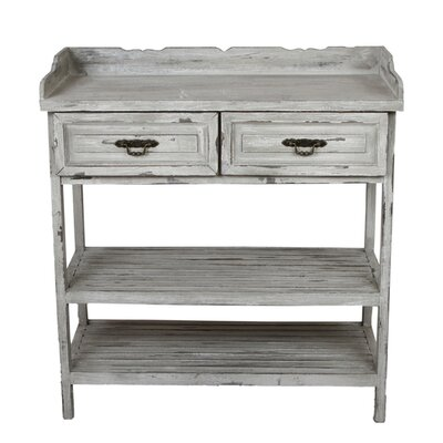 Lease to own 2 Drawer Console Table...