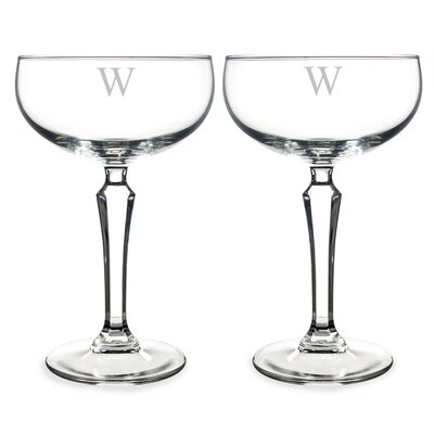 8.25 Oz. Personalized Champagne Glass 1230-2