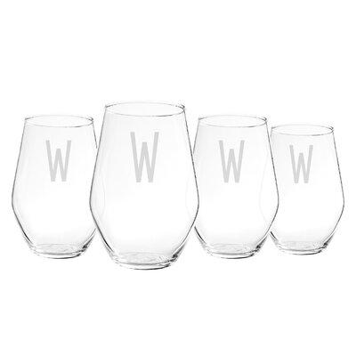 19 Oz. Stemless Wine Glass 1101-4