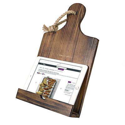 Personalized Mothers Day Wooden iPad & Recipe Stand