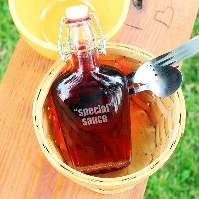 """Special"""" Sauce Glass Flask Cruet 1172SS"""