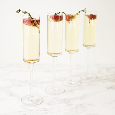 Personalized Champagne Flute 3668-4