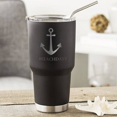 Anchor Stainless Steel Double-Walled 30 oz. Insulated Tumbler ACH2208BK